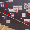 Treppenaufstieg in der Glashalle
