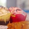 Verschiedene Muffins