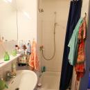 Badezimmer in einem Einzelappartemt