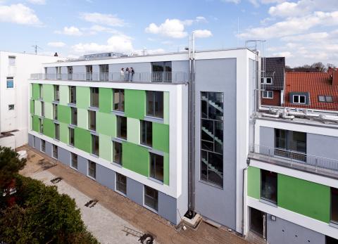 Wohnanlage Neustadt Studierendenwerk Bremen