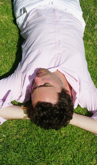 Entspannung auf der Wiese